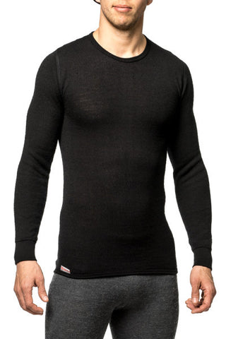 Woolpower TEE SHIRT, LONG SLEEVE (Crewneck Sweater) - 200 g/m2