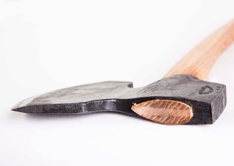 GRANSFORS BROAD AXE 1900 - STRAIGHT - sharpened bevel on right #4803