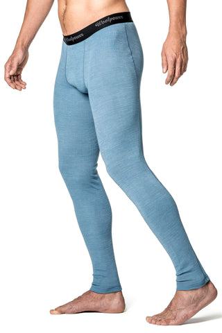 Woolpower LITE -  Long John's - Nordic Blue