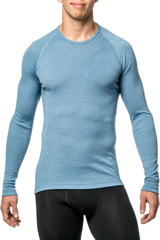 Woolpower LITE  Crewneck Long Sleeeve - Nordic Blue