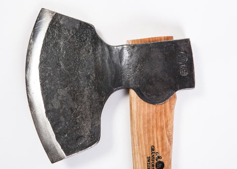 GRANSFORS BROAD AXE 1900 STRAIGHT - sharpened bevel on right #4803