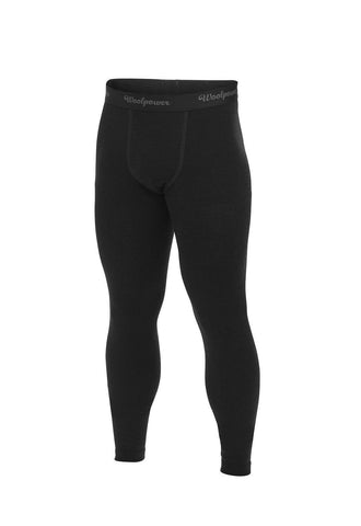 Woolpower LITE - Long John's - Men - Black