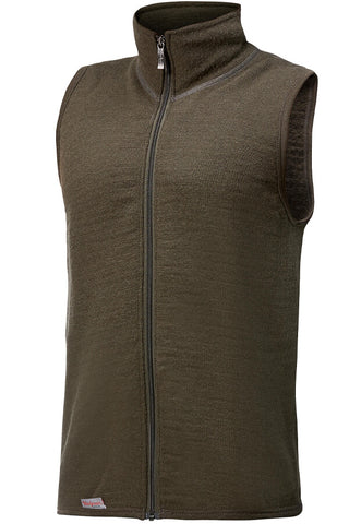 Woolpower SWEATER VEST WITH FULL ZIPPER - 400 g/m2