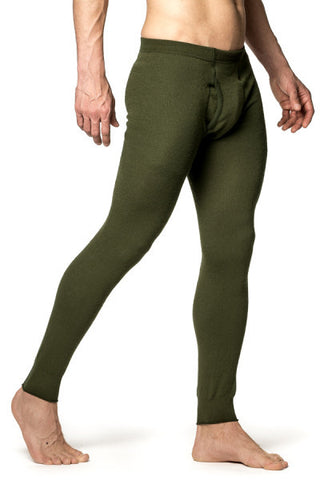 LONG UNDERWEAR WITH FLY - 200 g/m2