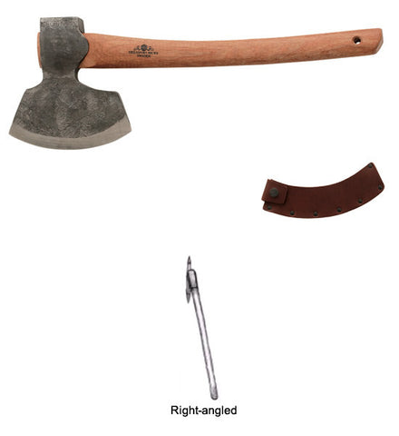 Gransfors Broad Axe 1900 Right Angled -  #4821 - #4822 - #4823