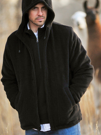 Llama Wool - THE HOODED CUZCO JACKET