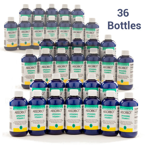 36 Bottles (Distributor Price) Absorbot™ Liposomal  Vitamin C (50% off)