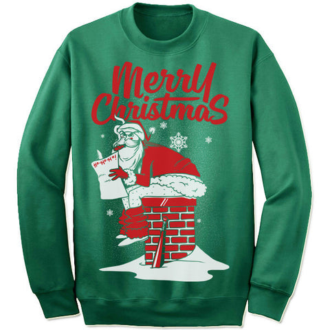 Bad Santa Christmas Sweatshirt