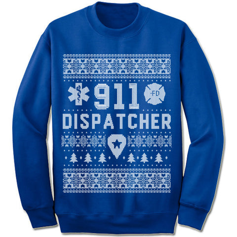 911 Dispatcher Christmas Sweatshirt