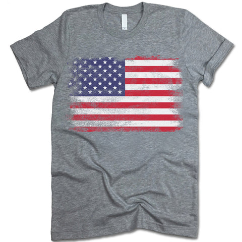 American Flag Mens T Shirt