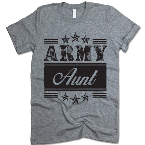 Army Aunt T-shirt