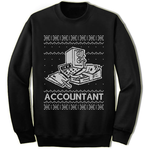 Accountant Christmas Sweatshirt