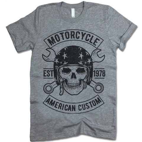 American Custom Motorcycles T-Shirt
