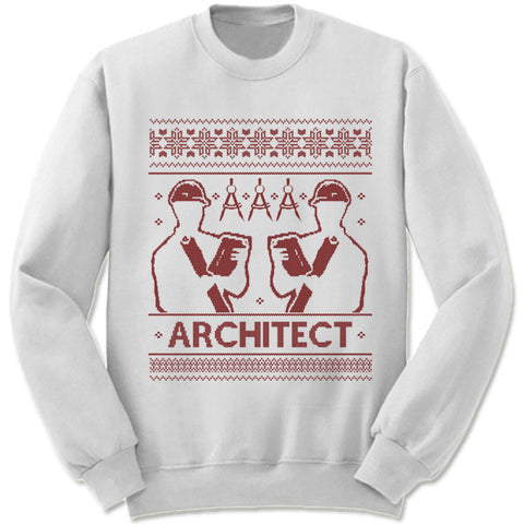 Architect Christmas Sweatshirt