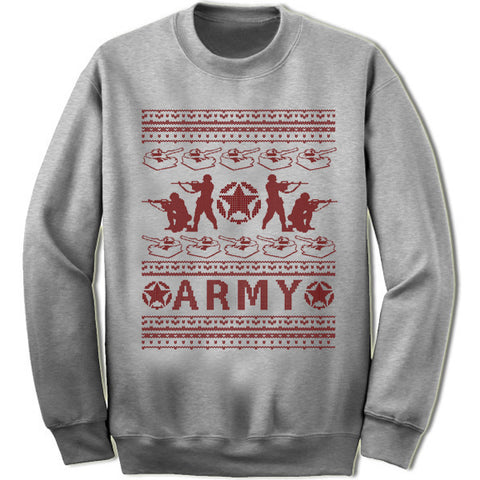 Army Christmas Sweatshirt