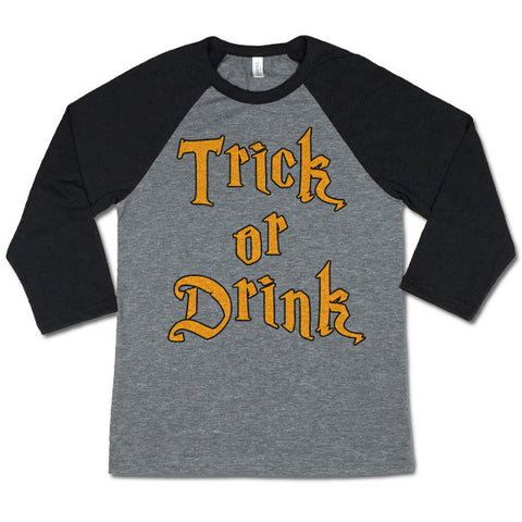 Trick or Drink Halloween Shirt