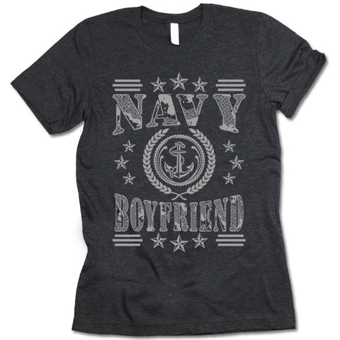 Navy Boyfriend T-shirt