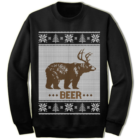 Bear Deer Christmas Sweatshirt