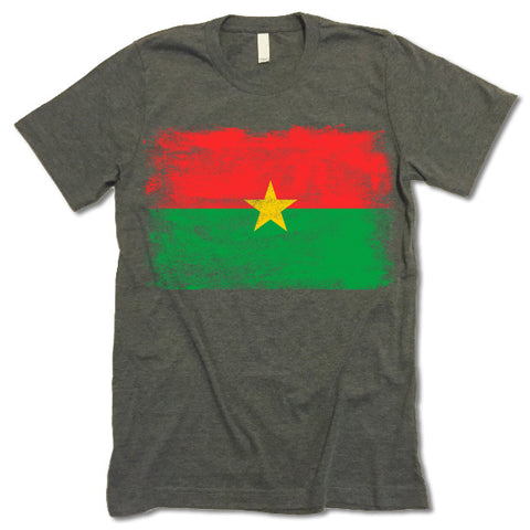 Burkina Faso Flag Shirt