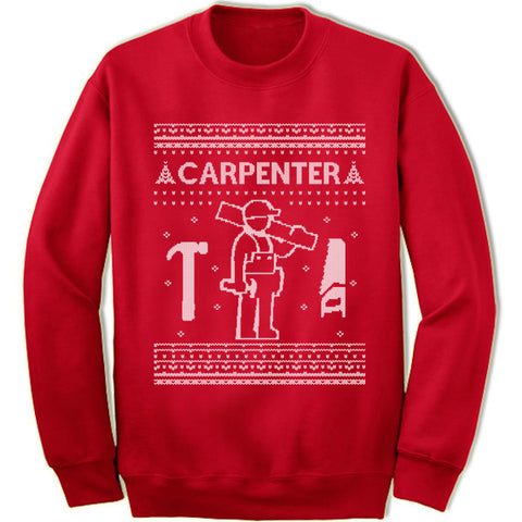 Carpenter Christmas Sweatshirt