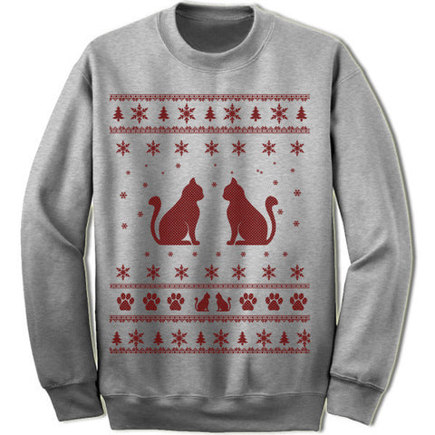 Cat Ugly Christmas Sweater