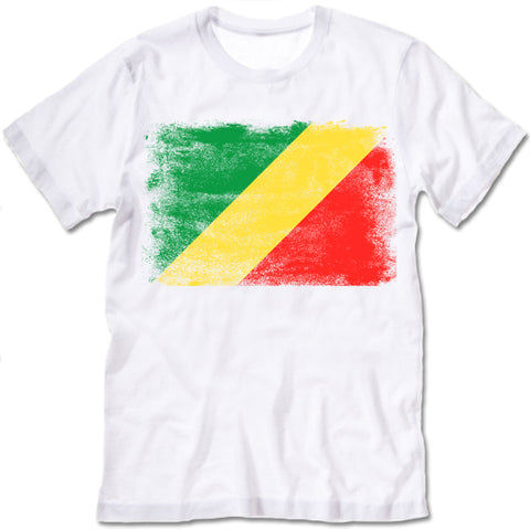 Congo-Brazzaville Flag T-shirt