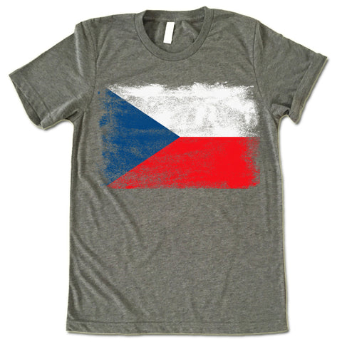 Czech Republic Flag T-shirt