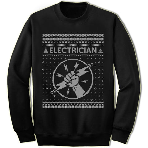Electrician Christmas Sweatshirt