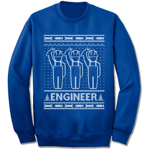 Engineer Christmas Sweatshirt