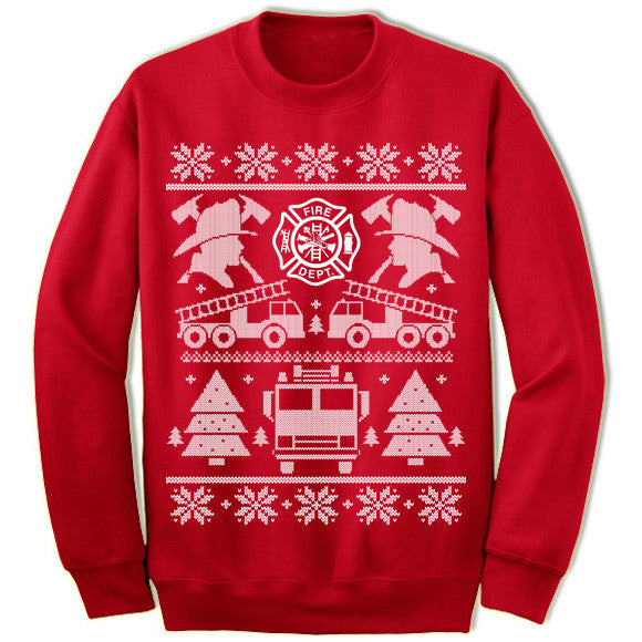 Firefighter Christmas Sweater