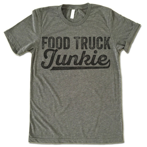 Food Truck Junkie T-Shirt