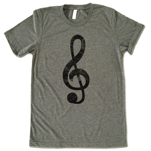 G-Clef Music Sign T Shirt