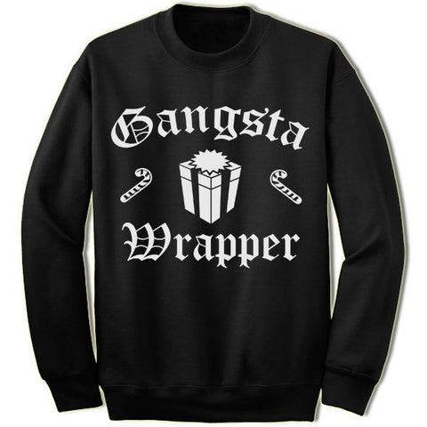 Gangsta Wrapper Christmas Sweater