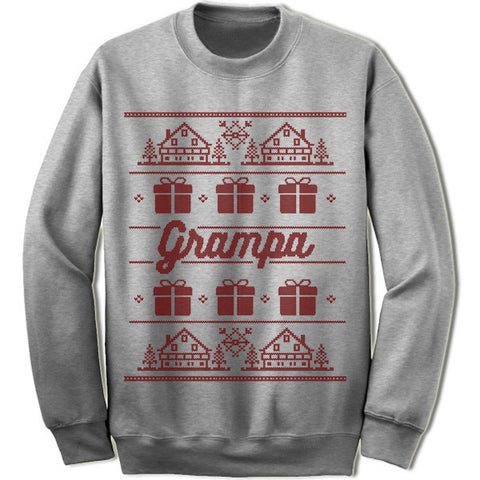 Grampa Christmas Sweater