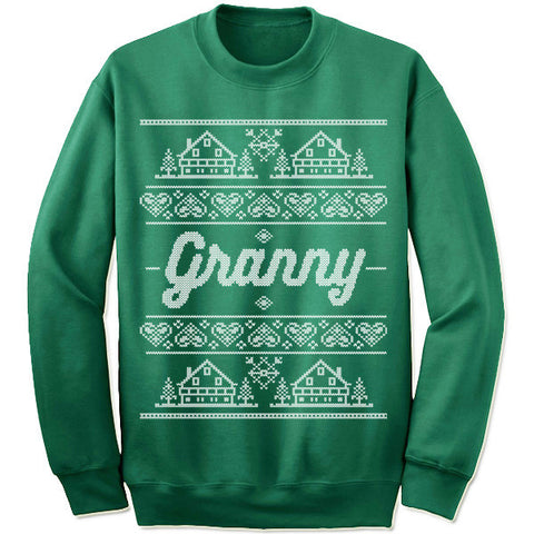 Granny Christmas Sweater