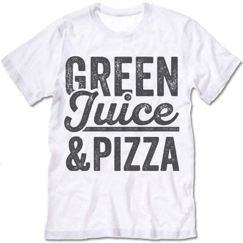 Green Juice and Pizza