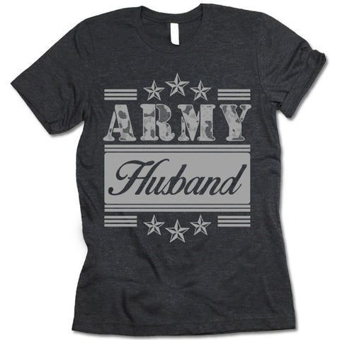 Army Husband T-shirt