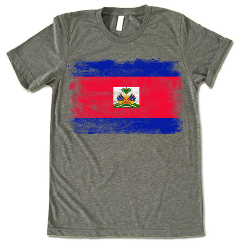 Haiti Flag T-shirt