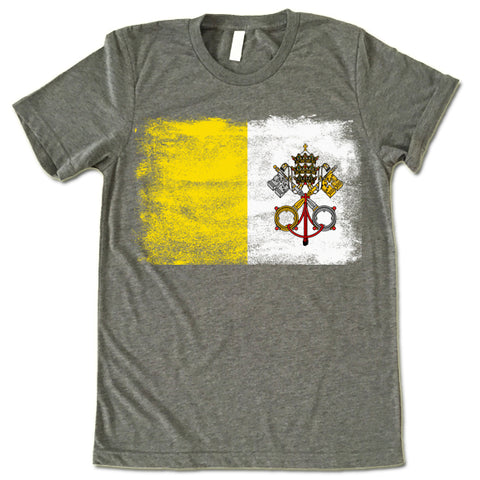 Holy See Flag T-shirt