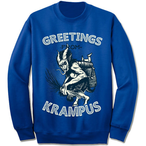 Krampus Christmas Sweatshirt