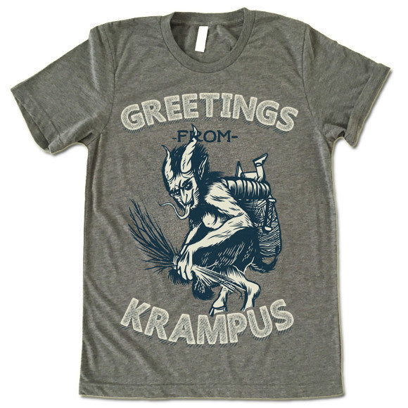 017a060bbf Christmas Greetings From Krampus T-Shirt – Gifted Shirts