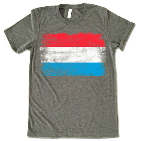 Luxembourg Flag shirt