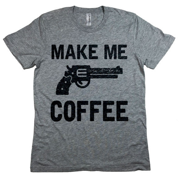 Make Me Coffee Crewneck T-Shirt