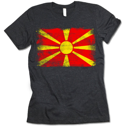 Macedonia Flag shirt