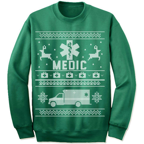 Medic Christmas Sweater