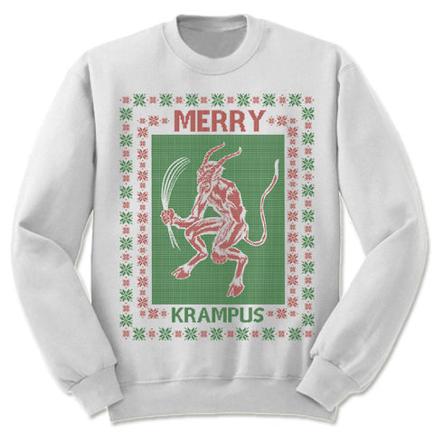 Merry Krampus Christmas Sweatshirt