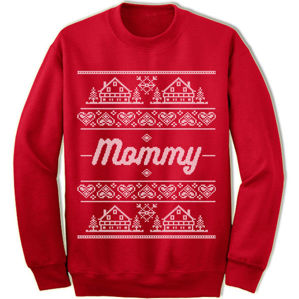 Mommy Christmas Sweater