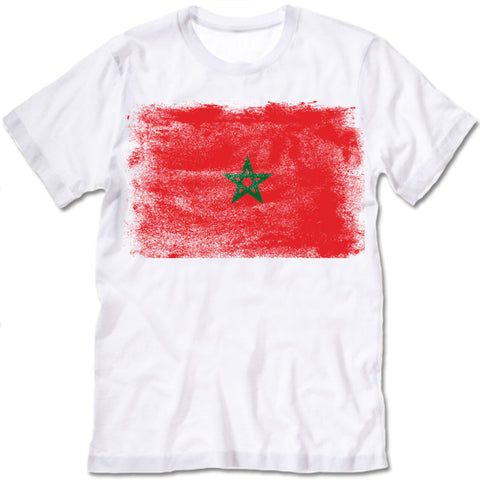 Morocco Flag T-shirt