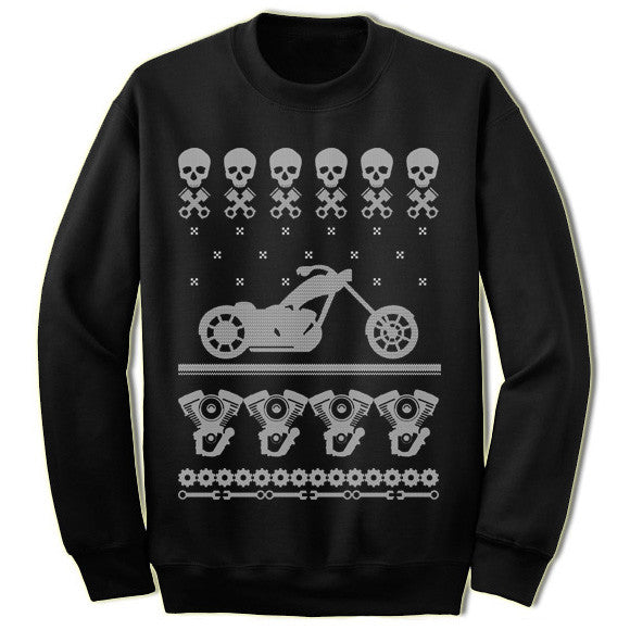 Motorcycle Christmas Sweatshirt