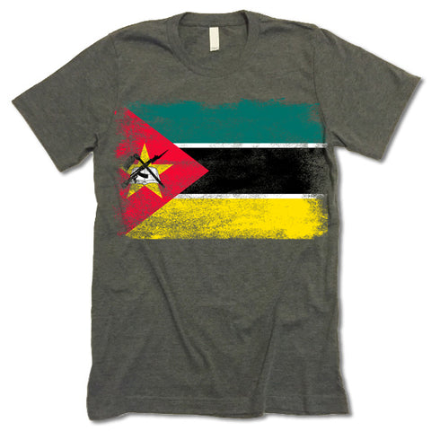 Mozambique Flag shirt